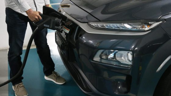 EV car in Singapore